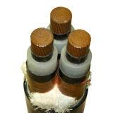 Isolation en polyéthylène réticulé //blindé à gaine PVC du câble d'alimentation