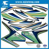 O PVC Livre-Projetou a etiqueta da motocicleta ATV