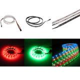 Lumière de bande flexible imperméable à l'eau du rideau DMX RGBW DEL du DJ