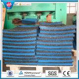 La gomma di gomma del campo da giuoco delle mattonelle dei grani di recupero delle mattonelle di asilo di gomma dei mattoni copre di tegoli le anti mattonelle della gomma dell'orlo
