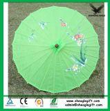 Logotipo personalizado promocional Umbrella de bambu