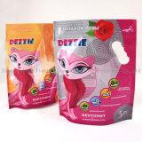 De plastic Verpakkende Tribune van het Pit op de Verpakkende Zak van de Hondevoer, Hond behandelt Zak, De Zak van het Voedsel voor huisdieren