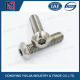 Edelstahl ISO7380 Heaxagon Kontaktbuchse-runde Hauptschraube