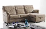 Wohnzimmer-Sofa mit dem modernen echtes Leder-Sofa eingestellt worden (722)