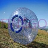 Giant Grass Rolling Human Inflatable Body Zorb Ball pour enfants