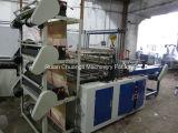 Sechs-Zeile PlastikEinkaufstasche, die Maschine herstellt
