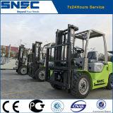 Mejor carretilla elevadora de elevación automática del diesel de Snsc 3t de la máquina de China