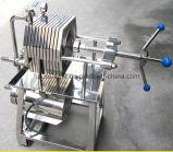 Filtre-presse de vin d'acier inoxydable