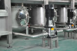 5 galón de agua mineral de la línea de producción automática