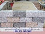 Ciottolo variopinto di figura quadrata naturale/pietra per lastricati sulla maglia per il paesaggio esterno ed il patio del giardino