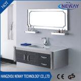 Классицистический тип шкаф тщеты ванной комнаты нержавеющей стали с зеркалом
