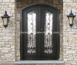 Стробы и двери утюга входа жилого дома стальные