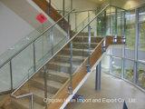 Vidro colorido temperado temperado laminado para escadas