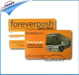 12years 금 공급자 Cr80 PVC 카드