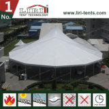 tente en aluminium personnalisée extérieure de bâti de la crête 20X40 élevée avec le guichet d'église à vendre