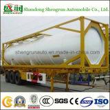 De Semi Aanhangwagen van de Container van de Tank van de olie