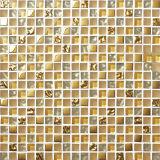 목욕탕 벽 타일 바닥 (R15040)를 위한 싼 가격 유리제 모자이크