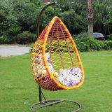 Presidenza esterna dell'uovo dell'oscillazione del rattan di Oqo/mobilia esterna del patio del metallo oscillazione del giardino/presidenza esterna dell'uovo (D016A)