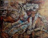 Pittura a olio decorativa del cavallo