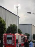 Camion de pompiers de l'éclairage