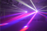 8*12W 크리 사람 광속 LED 이동하는 맨 위 거미 DMX 점화