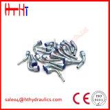 ajustage de précision femelle de gaz de 90degree JIS de l'usine hydraulique 29691 de la Chine