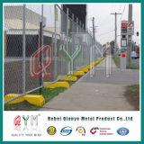 一時チェーン・リンクの塀はまたはオレンジチェーン・リンクの一時塀の工場をアセンブルする