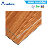 Acabado de madera Panel ACP