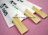 Palillos de bambú de papel impresos sanos usados que acampan