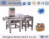 Premade Beutel-Verpackungsmaschine mit Gewicht-Kontrolleur-und Metalldetektor