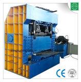 Taglio di polvere di gomma della ghigliottina del pneumatico idraulico dello spreco che ricicla macchina