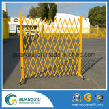 Puerta de Barrera Plegable Movible Flexible de Aluminio al aire libre