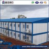 Costruzione prefabbricata personalizzata della costruzione prefabbricata del blocco per grafici della struttura d'acciaio per il cantiere