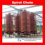 Dell'impianto del separatore di arricchimento della sabbia di ferro dello scivolo a spirale