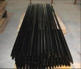 1650mm/1800mm 까만 가연 광물 별 말뚝 또는 호주 강철 검술 Y 포스트