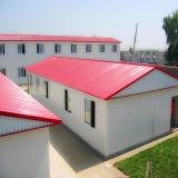 Helles Stahlrahmen-Zwischenlage-Panel-bewegliches/modulares Gebäude/fabrizierten/Fertiglager-lebende Häuser vor