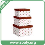 Коробка подарка вложенности/картон гнездились бумажная коробка/круглая Nestable коробка хранения