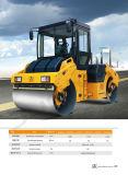 8 톤 가득 차있는 Hyraulic 두 배 드럼 진동하는 도로 쓰레기 압축 분쇄기 (JM808HA)