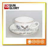 De Reeksen van de Koffie van het porselein met Draad Gloden van Bd045