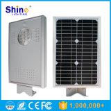 Vente à chaud 12 W à LED de haute qualité de la lampe solaire de jardin