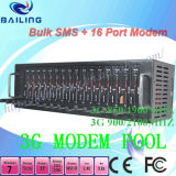 Wavecom Fastrack 16 Port Modem Pool를 위한 16 SIM Card Kit 다중 Port Modem Pool SMS Software