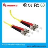 Cable de conexión de fibra óptica monomodo dúplex St-St 1mt