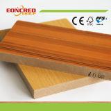 Hölzernes Korn-hoher glatter Melamin MDF für Schlafzimmer-Küche-Möbel
