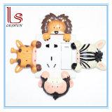Artesanato de resina e de interruptor de parede define resina decorativa Adesivo do Interruptor de Animais