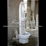 Witte Marmeren Fontein voor Decoratie mf-1292 van het Huis