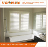 Aisen Home Furniture Porta Francesa PVC Plantation Shutter Wholesaler