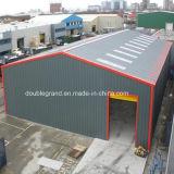 Edificio del acero estructural, almacén ligero de la estructura de acero