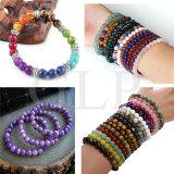 Fashion femmes semi naturel personnalisé de pierres précieuses Perles Bracelets (B190321)