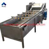 Carotte Gingembre Pommes de terre Vegatables automatique Bulle d'air de lavage et de la machine de peeling
