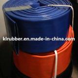 Mangueira plana leigos de PVC para descarga de água com o SGS